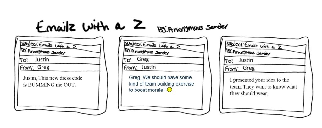 Emailz With a Z is the best worst comic strip ever