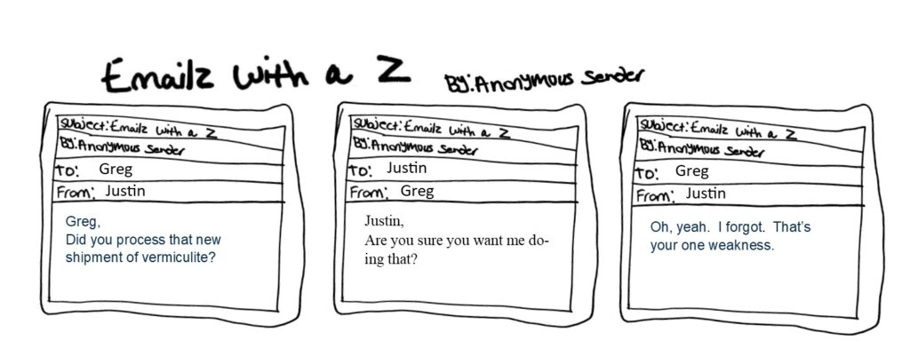 Emailz With a Z the best worst comic strip ever